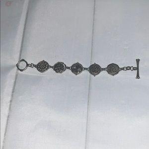 Pretty Silver Lucky Brand Bracelet